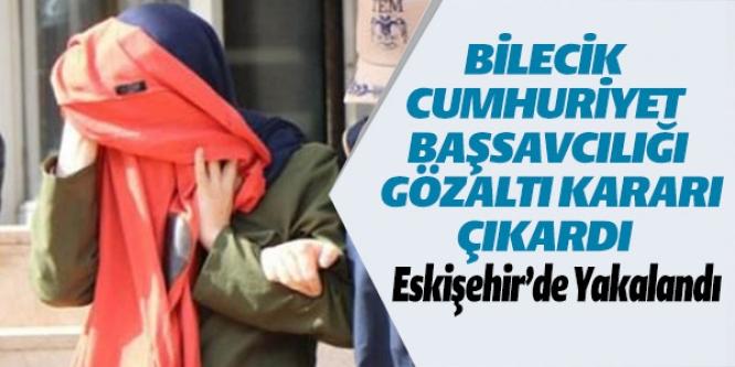 """""""BYLOCK"""" KULLANICISI OLDUĞU TESPİT EDİLEN KADIN ESKİŞEHİR'DE YAKALANDI"""