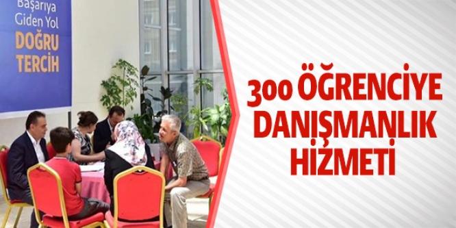 300 ÖĞRENCİYE DANIŞMANLIK HİZMETİ