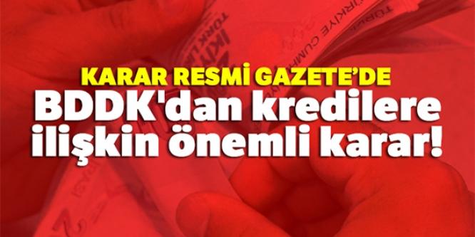 KARAR RESMİ GAZETE'DE !