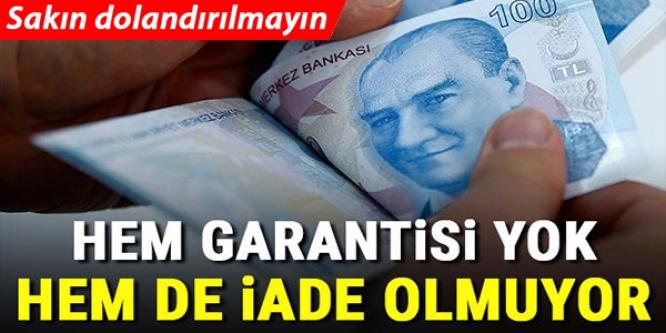 İNTERNETTEN İKİNCİ EL EŞYA ALANLAR DİKKAT!