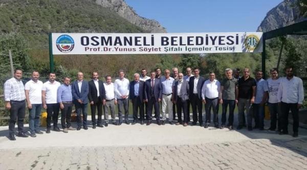 MİMAR VE MÜHENDİSLER OSMANELİ'NDE BULUŞTU