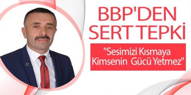 BBP'DEN HDP'YE SERT TEPKİ