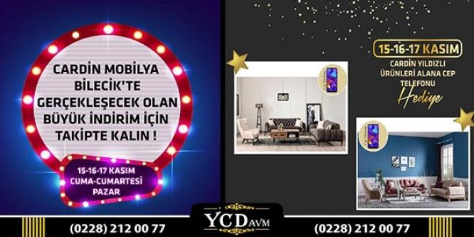CARDİN MOBİLYA BİLECİK'TE