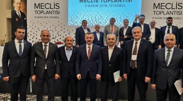MARMARA BELEDİYELER BİRLİĞİ TOPLANTISINA KATILDILAR
