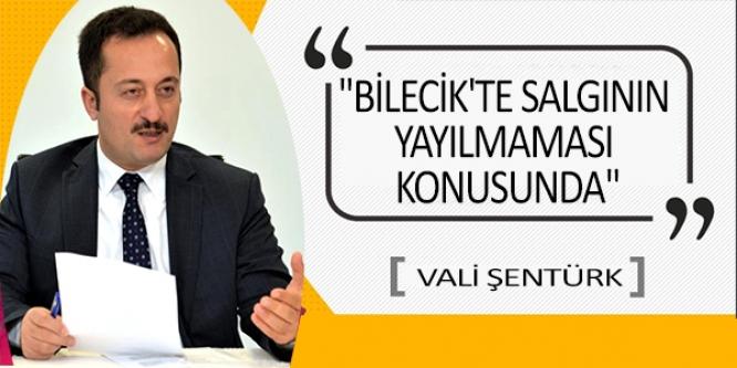 BİLECİK'TE SALGININ YAYILMAMASI KONUSUNDA