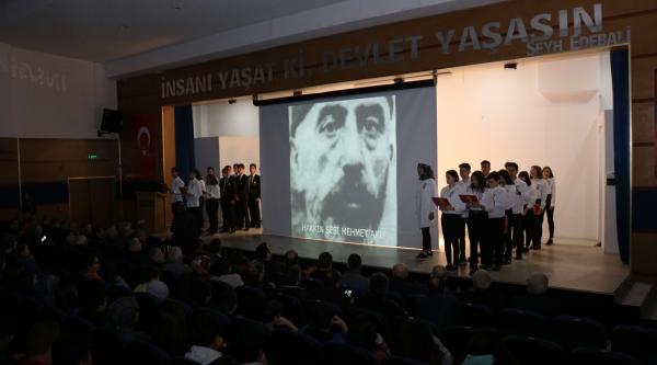 İSTİKLAL MARŞI'NIN KABULÜNÜN 99'UNCU YIL DÖNÜMÜ KUTLANDI