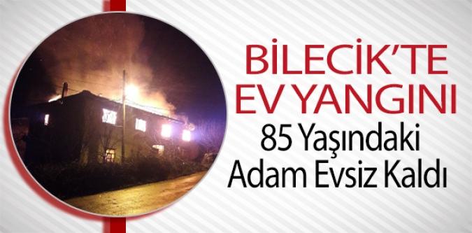 85 YAŞINDAKİ ADAM EVSİZ KALDI