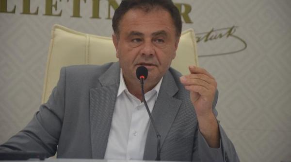 """BAŞKAN ŞAHİN, """"BU ZORLU GÜNLERİ HEP BİRLİKTE AŞACAĞIZ"""""""