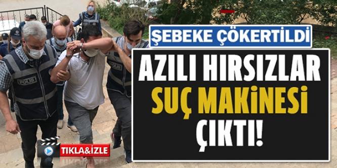 BİLECİK'TE HIRSIZLIK ŞEBEKESİ ÇÖKERTİLDİ
