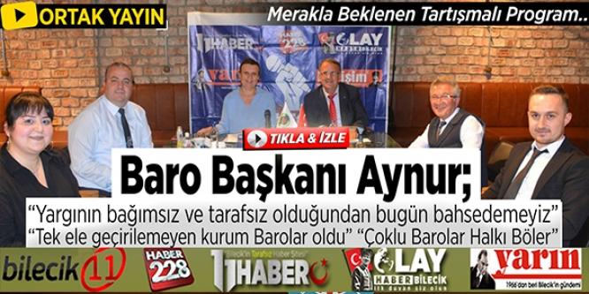 """""""TEK ELE GEÇİRİLEMEYEN KURUM BAROLAR OLDU"""""""