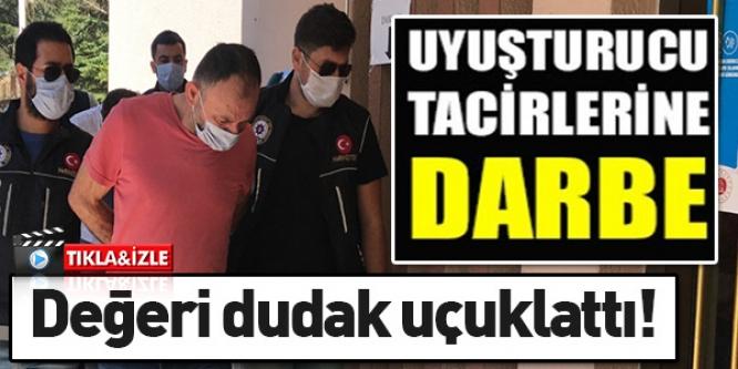 UYUŞTURUCU TACİRLERİNE DARBE!