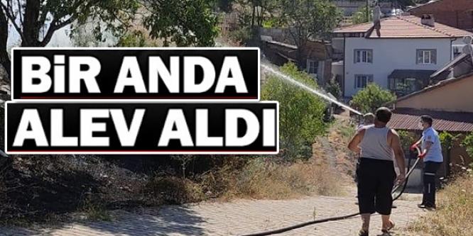 BİRANDA ALEV ALDI!
