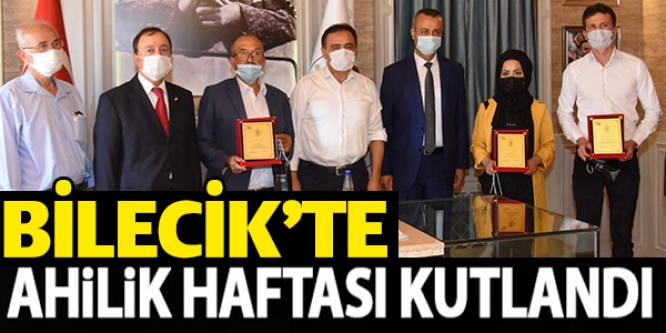 BİLECİK'TE AHİLİK HAFTASI KUTLANDI
