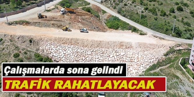 ÇALIŞMALARDA SONA GELİNDİ TRAFİK RAHATLAYACAK!