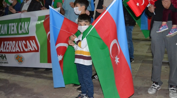 BİLECİK'TEN AZERBAYCAN'A DESTEK...