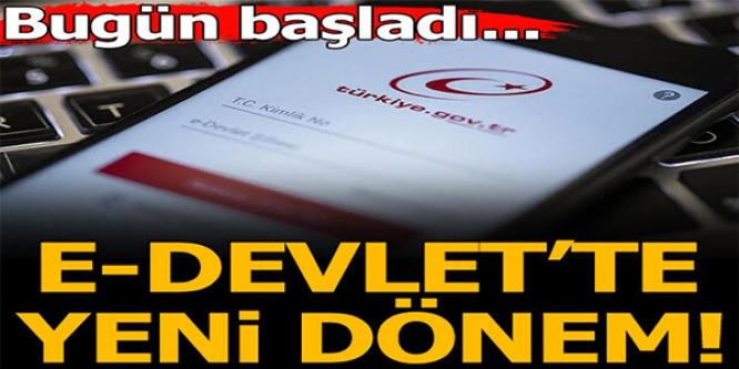 E-DEVLETTE YENİ DÖNEM