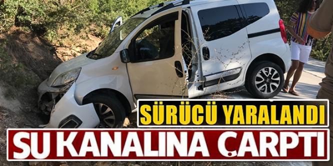 SU KANALINA ÇARPTI..