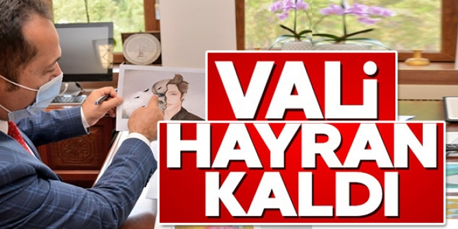 VALİ HAYRAN KALDI