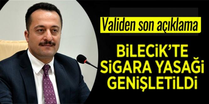 BİLECİK'TE SİGARA YASAĞI GENİŞLETİLDİ !