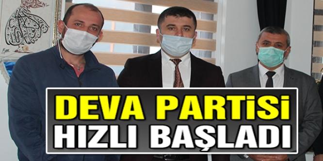 DEVA PARTİSİ İL BAŞKANINDAN ZİYARET
