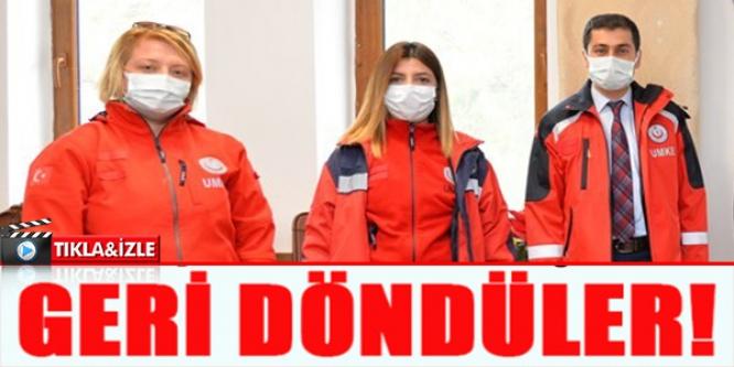 GERİ DÖNDÜLER !