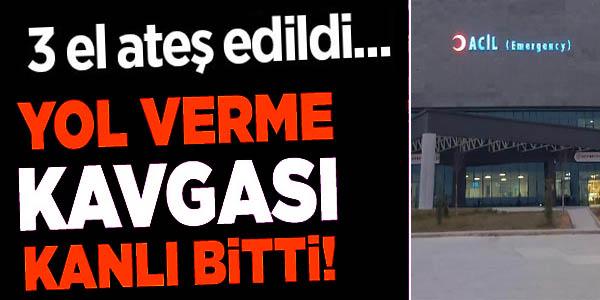 BİLECİK'TE YOL VERME KAVGASINDA 1 KİŞİ SİLAHLA YARALANDI