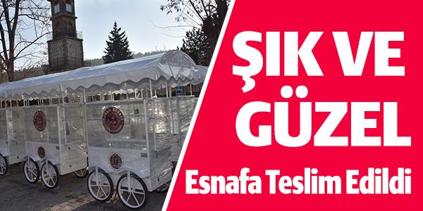 ESNAFA TESLİM EDİLDİ !