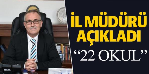 MİLLİ EĞİTİM MÜDÜRÜ AÇIKLAMA YAPTI !