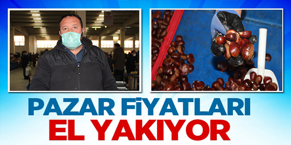 PAZAR FİYATLARI EL YAKIYOR !