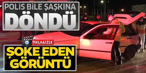 POLİS BİLE ŞAŞKINA DÖNDÜ !