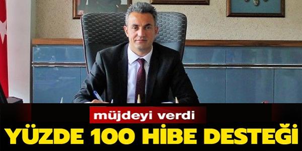 YÜZDE 100 HİBE DESTEĞİ