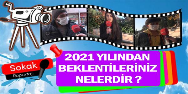 2021 YILINDAN BEKLENTİLERİNİZ NELERDİR ?
