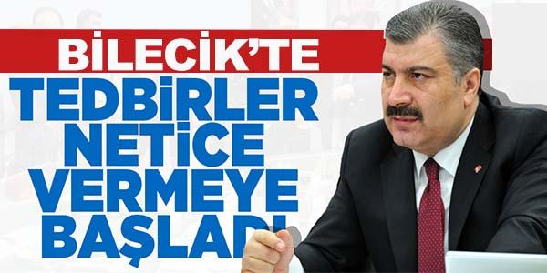 BİLECİK'TE TEDBİRLER NETİCE VERMEYE BAŞLADI