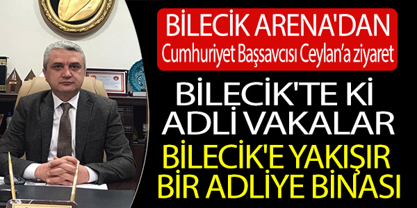 BİLECİK'TEKİ ADLİ VAKALAR TÜRKİYE ORTALAMALARININ ALTINDA