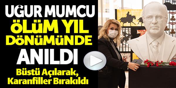 UĞUR MUMCU BİLECİK'TE ANILDI