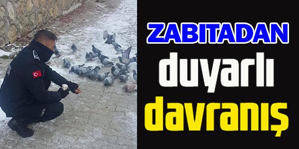 ZABITADAN DUYARLI DAVRANIŞ
