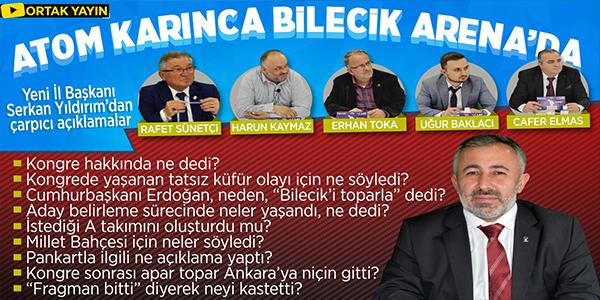 ATOM KARINCA BİLECİK ARENA'DA