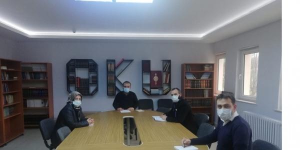 BİLECİK'TE YÖGEP  TOPLANTISI YAPILDI