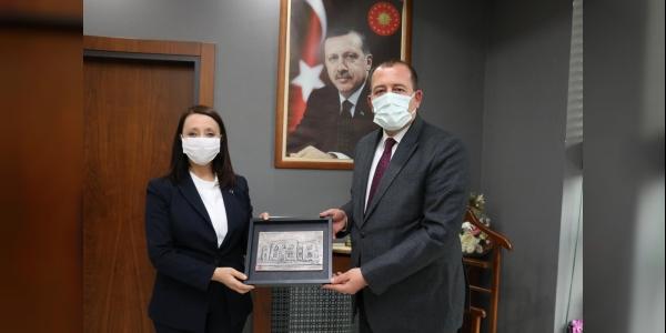 MKYK ÜYESİ KARACAN'DAN  PAZARYERİ ZİYARETİ