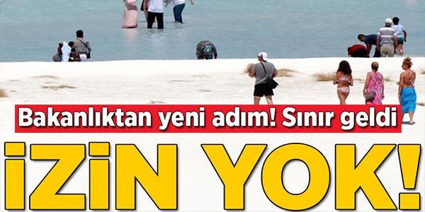 SINIR GELDİ, İZİN YOK.