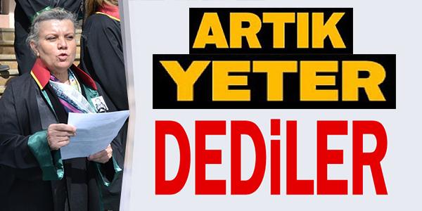 """BİLECİK BAROSU BAŞKANI AYNUR, """"ARTIK ÖLDÜRÜLMEK İSTEMİYORUZ"""""""