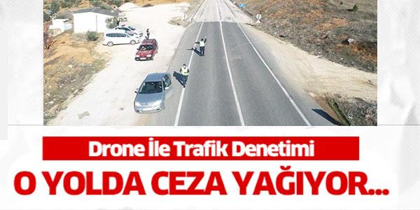 DRONE İLE TRAFİK DENETİMİ