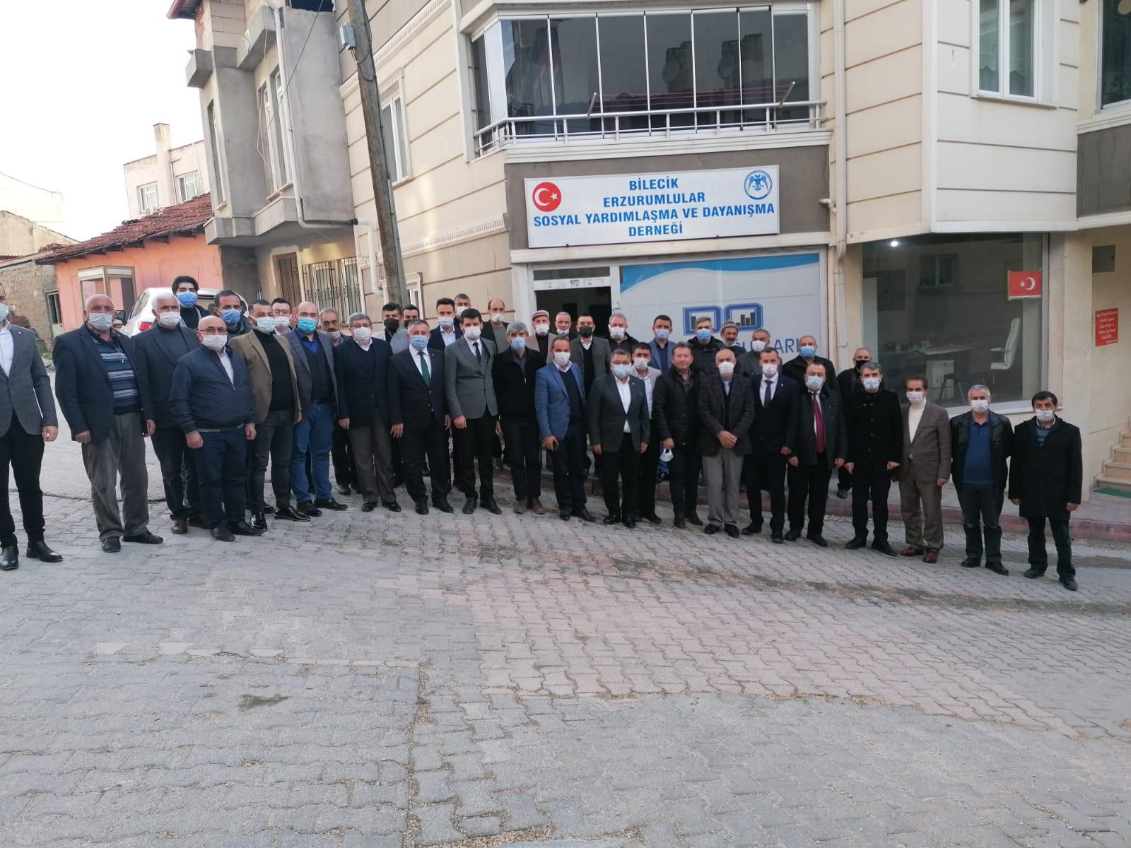 ERZURUM'UN DÜŞMAN İŞGALİNDEN KURTULUŞUNUN 103. YILI KUTLANDI