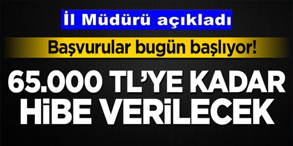 İŞKUR'DAN 65 BİN TL'YE KADAR HİBE DESTEĞİ