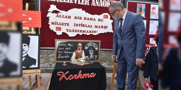 MEHMET AKİF ERSOY'U ANMA SERGİSİ