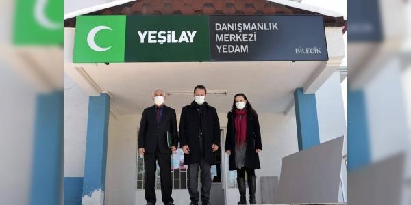 VALİ ŞENTÜRK'TEN YEDAM İNŞAATINDA İNCELEME