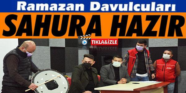 RAMAZAN DAVULCULARI SAHURA HAZIR