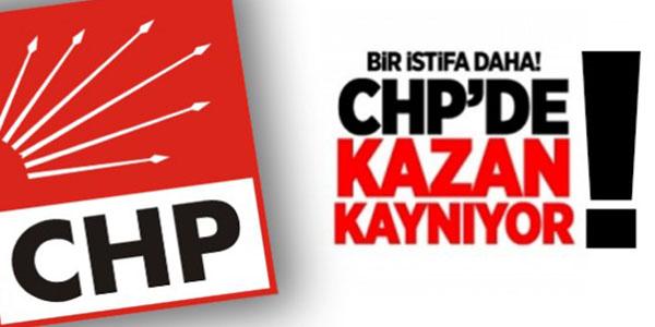 CHP'DE İSTİFALARIN ARKASI KESİLMİYOR
