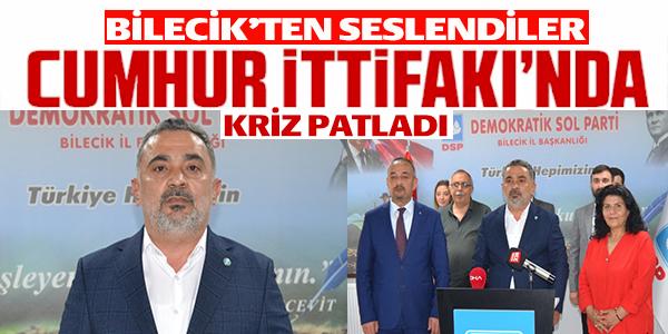CUMHUR İTTİFAKI'NDA KRİZ PATLADI