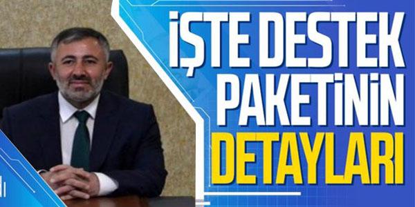ESNAFA DESTEK 25 MAYIS'TA BAŞLIYOR